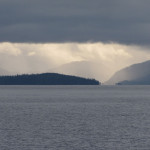 Beautiful scenery off the coast of Prince Rupert BC