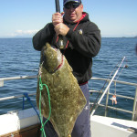 Halibut fishing